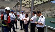 Inspeccionan inopinadamente labor de acuícolas en sector Los Chimus