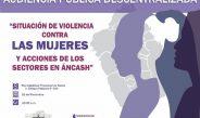 Evalúan situación de las mujeres y acciones que desarrollan instituciones frente a la violencia en Áncash