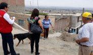 """Chimbote: Contraloría verifica obra de pistas y muros en la """"Esperanza Alta"""""""