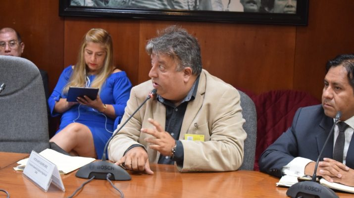 Ex gerente del gobierno regional del Callao se presentó en Comisión