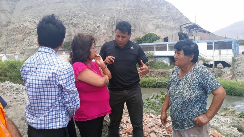 Fortalecerán gestiones para construir puente en el distrito de Coishco