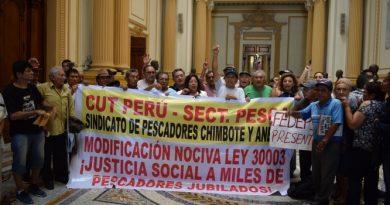 Caja del Pescador no podrá pagar deudas previsionales a pescadores jubilados